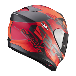 SCORPION EXO 520 AIR COVER Red